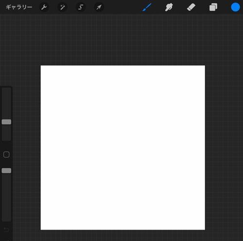 正方形のキャンバス