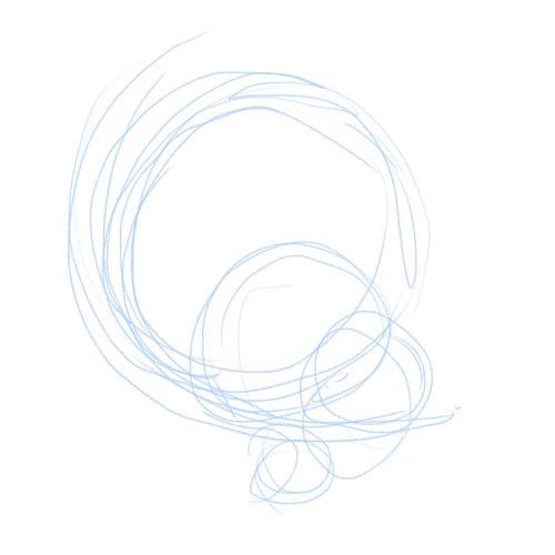 シルエットラフ